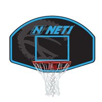 Net1 Vertical 76 x 50cm Backboard and Goal Basketball System