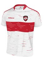 Mc Keever Derry GAA Jersey - Youth - White/Red