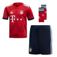 adidas FC Bayern Munich 2018/19 Home Mini Kit - Infants - FCB True Red/Strong Red/White/Collegiate Navy/Whi