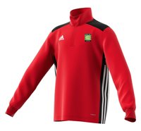 adidas Club Coerver Coaching Regista 18 Training Top - Youth - Red/Black