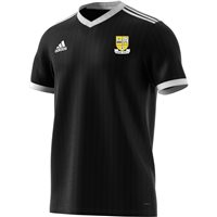 adidas Club Clonmel Town FC Tabela 18 Jersey - Youth - Black/White