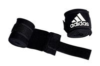 adidas Boxing Hand Wraps - Black - 2.55m