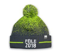 Mc Keever Feile 2018 Bobble Hat - Grey/Green