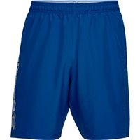 Under Armour Woven Graphic Wordmark Shorts - Mens - Royal/Steel