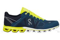 On CloudFlow Running Shoes - Mens - Petrol/Neon