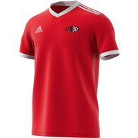 adidas Club Arklow RFC Tabela 18 Jersey - Youth - Red/White