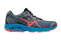 Mizuno Wave Inspire 14 Running Shoes - Womens - Blue/Coral/Blue