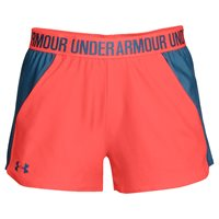 Under Armour Play Up Short 2.0 - Womens - After Burn/Static Blue/Static Blue