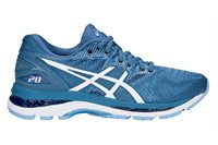 Asics Gel-Nimbus 20 Running Shoes - Womens - Azure/White