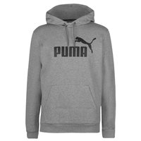 Puma Essential No.1 Hoodie - Mens - Grey/Black