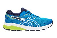 Asics GT-1000 7 GS Running Shoes - Boys - Race Blue/Neon Lime