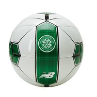 New Balance Celtic FC 2018/19 Dispatch Ball - Size 5 - White/Celtic Green