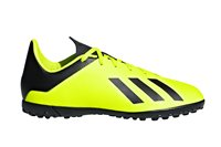adidas X Tango 18.4 TF Football Boots - Youth - Yellow/Black/Yellow