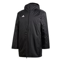 adidas Core 18 Stadium Jacket - Adult - Black/White