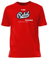 Mc Keever Cork Supporters Rebel Tee - Adult - Dark Red