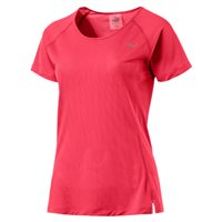Puma Run Short Sleeve Tee - Womens - Paradise Pink