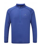 Ronhill Everyday Long Sleeve Running 1/4 Zip Top - Mens - Azurite Marl