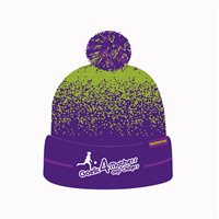 Mc Keever Gaelic For Mothers Beanie Hat - Adult - Purple/Lime