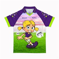 Mc Keever Gaelic For Mothers Jersey - Youth - Purple/Lime