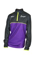 Mc Keever Gaelic For Mothers 1/4 Zip Jacket - Adult - Purple/Lime/Charcoal