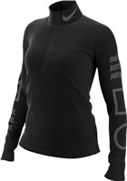 Nike Element Half Zip Top - Womens - Black/Thunder Grey