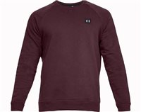 Under Armour Rival Fleece Crew Top - Mens - Dark Maroon/Black