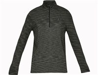 Under Armour Vanish Seamless 1/2 Zip - Mens - Artillery Green/Black