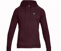 Under Armour Rival Fleece Full Zip Hoodie - Mens - Dark Maroon/Dark Maroon