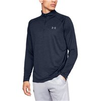 Tech 1/2 Zip - Mens - Academy/Steel by Under Armour