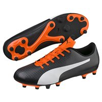Puma Spirit FG Football Boots - Mens - Black/White