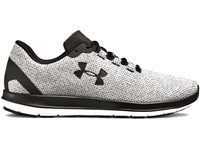 Under Armour Remix FW18 Running Shoes- Mens - White/Black/Black