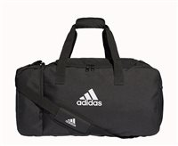 adidas Tiro Medium Duffel Sports Bag - Black/White