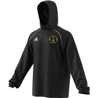 adidas Club Naomh Mearnog Core 18 Rain Jacket - Adult - Black/White
