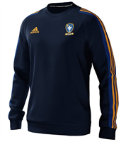 adidas Club Sarsfields Perth Mi Team 18 Sweat Top - Youth - Collegiate Navy/Bold Blue/Collegiate Gold