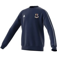 adidas Club Whitehall Colmcille GAA Core 18 Sweat Top - Adult - Dark Blue/White