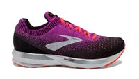 Brooks Levitate 2 Running Shoes - Womens - Purple/Fiery Coral/Black