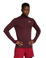 Nike Sphere Element 2.0 1/2 Zip Top - Mens - Maroon/Heather/Black
