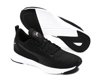 Puma Flyer Runner Shoes - Womens - Black/Pale Pink