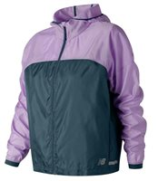 New Balance Light Running PackJacket - Womens - Violet/North Sea