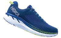 Hoka One One Clifton 5 Running Shoes - Mens - Sodalite Blue/Mood Indigo