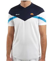 Ellesse Aladino C&S Short Sleeve Tee - Mens - White