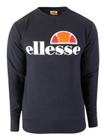Ellesse Succiso Crew Neck Sweat Top - Mens - Navy