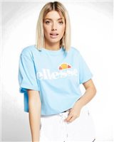 Ellesse Alberta Crop Tee - Womens - Light Blue