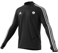adidas Club St Peters GAA Tiro 19 Training Top - Adult - Black