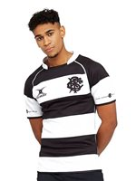 7810d3bc030 Gilbert Barbarian Rugby 2019/20 Player Edition Replica Jersey - Mens -  Black/White