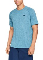 Under Armour Tech Short Sleeve Tee - Mens - Ether Blue/Academy