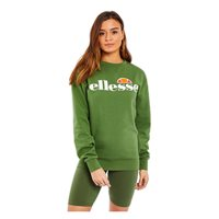 Ellesse Manzanillo Lightweight Crew Sweat Top - Womens - Dark Green