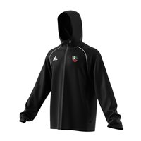adidas Club Lavey GAA Core 18 Rain Jacket - Adult - Black/White
