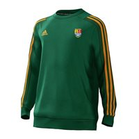 adidas Club Carbery Rangers Mi Team 18 Sweat Top - Youth - Bold Green/Dark Green/Collegiate Gold