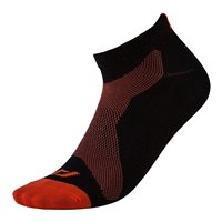 Pro Touch Lakis UX Running Socks - Adult - Black/Orange Dark